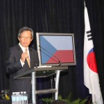 Y.J. Choi, Ambassador of the Republic of Korea to the United States, speaks Monday about Kentucky business opportunities in Korea.
