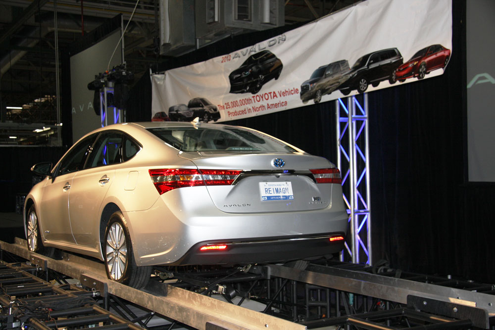 Georgetown Plant Produces Toyota 39 S 25th Million American