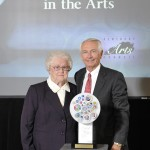Leona Waddell of Cecilia received the Folk Heritage Award.