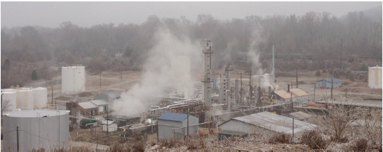 Somerset refinery operational first oil processed at site for Somerset motors somerset ky