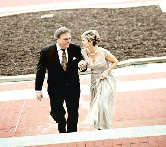 Sen. Robert Stivers recently married Regina Crawford, field representative for U.S. Senate Republican Leader Mitch McConnell.