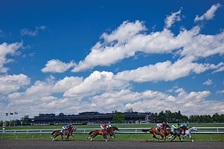 Spring is even more beautiful at Keeneland. (Jonathan Palmer photo provided by Keeneland)