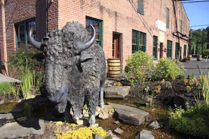 Historic Buffalo Trace Distillery is located in Frankfort, Ky.