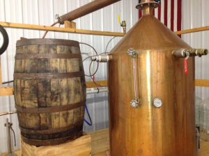 Visitors to Limestone Branch in Lebanon, Ky., can get a close-up view of whiskey distilling in action.