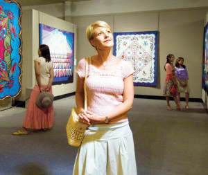 The National Quilt Museum in Paducah, constructed in 1991, is the world's largest museum devoted to quilt and fiber art.