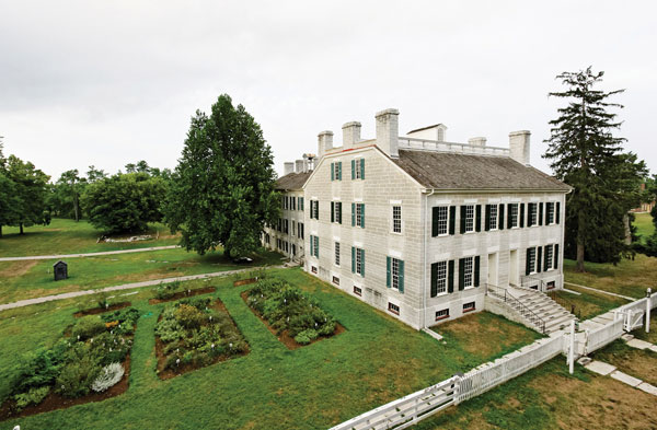 Shaker Village at Pleasant Hill in Harrodsburg is America's largest restored Shaker community. There's much to see at the 3,000-acre National Historic Landmark, including Shaker Village Inn and dining room, a craft museum and Living History Museum, and the Nature Preserve and trail system.
