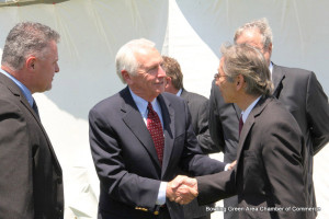 Gov. Steve Beshear joined company and local officials at Kobe Aluminum Automotive Products in Bowling Green to break ground in May on the company's second expansion in recent months. Kobe Aluminum is investing $66 million to add an 87,000-s.f. building to its plant, resulting in 100 new, full-time jobs.