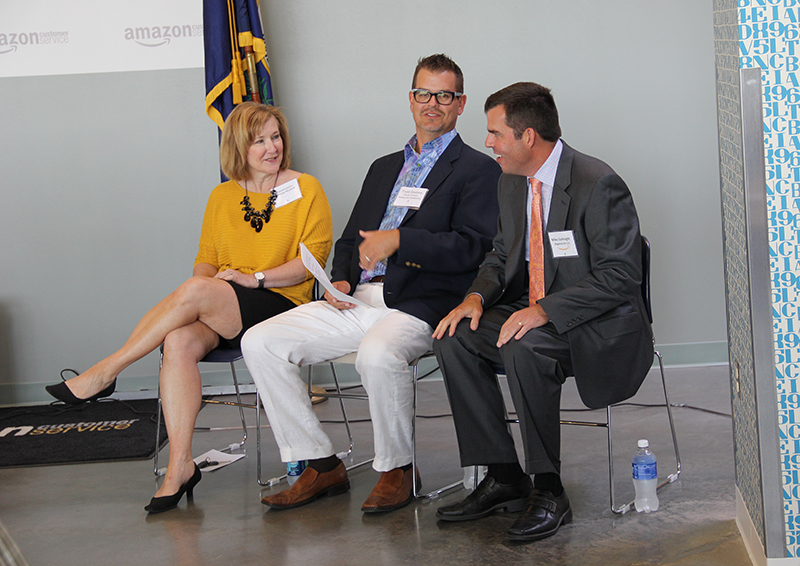 Amazon opens customer service center in Winchester with 550 employees