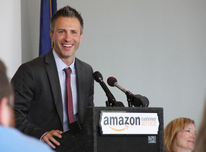 "Alex Krueger, Amazon's Winchester site leader, said the employees at the Winchester call center are what make it special. ""We have found tremendous talent in abundance in Winchester and we're so proud to be a part of the community,"" he said."