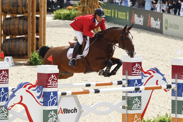 The Alltech 2010 World Equestrian Games were conducted in Kentucky.