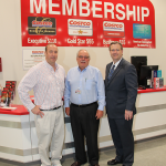 Hamburg developer Pat Madden attends the grand opening celebration for Costco, along with Costco co-founder and former CEO Jim Sinegal and Bob Quick, executive director of Commerce Lexington.