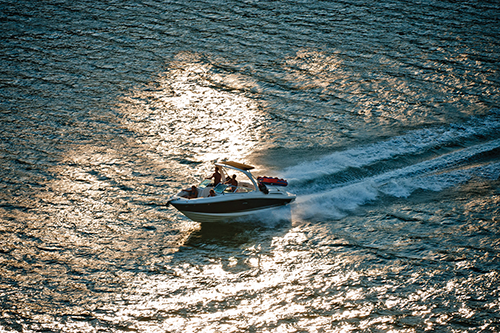 Visitors venture to Lake Cumberland for houseboating, skiing, fishing and relaxing each summer. The lake's half-dozen marinas rent houseboats, ski boats, water scooters and other water recreation equipment.