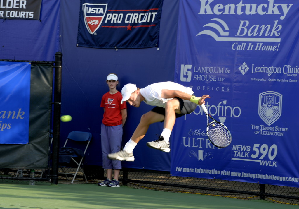 Australia's James Duckworth won the Kentucky Bank Tennis Championships men's singles final.