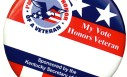 Voters can get buttons to honor a veteran at the ballot box