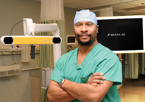 Dr. Duane Densler, chief of neurosurgery at Pikeville Medical Center, brought advanced German imaging devices to PMC after having trained with them during his University of Louisville Hospital residency. Real time imaging allows for more precise, less invasive brain and spine surgery.