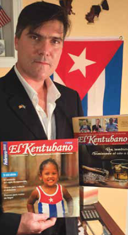 Luis David Fuentes works hard to help Cubans integrate into life in Kentucky while also preserving their native heritage with his publication, El Kentubano.