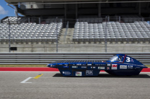 Gato del Sol V, the current UK solar car, has been racing since 2014. This race marked its best finish at the Formula Sun Grand Prix and its last run.