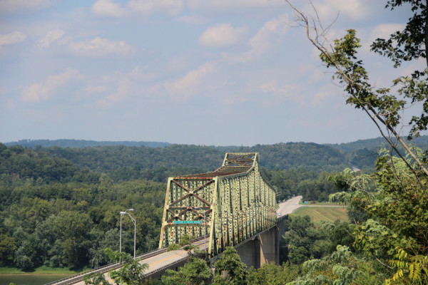 Meade County has a logistics-minded business climate, and the Matthew E. Welsh Bridge in Brandenburg is a popular connector to Indiana.