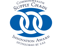 FRAMED 16-02-11 Award Logo-Commonwealth Supply Chain-SAS