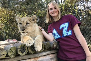Elizabeth Remming, a senior zoological conservation major from St. Louis, spent her summer as an international intern in Zimbabwe.
