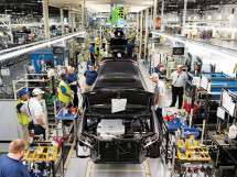 Earlier this year, Toyota spent $1.3 billion to make the 8.1 million-s.f. assembly plant in Georgetown, Ky., the first to receive its Toyota New Global Architecture update.