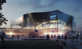 The photo above depicts what Rupp Arena might look like after an extensive renovation.