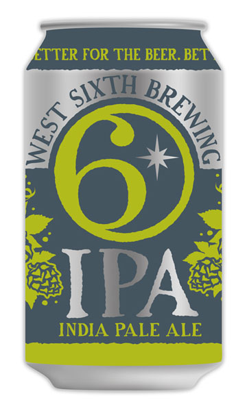 An India Pale Ale by West Sixth Brewing in Lexington is shown above.