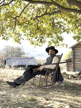 """Kevin Costner starred in the History Channel miniseries about the Hatfield and McCoy feud. The miniseries refueled the popularity of the feud. Artificats from the feud, discovered by a UK archaeologist, will be featured tonight on """"Diggers,"""" a television show on National Geographic."""