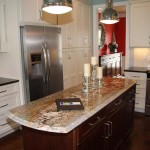 The kitchen of an energy-efficient home at 3012 Blackford Parkway in Lexington is shown.