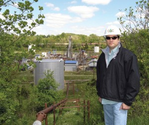 Demetrios Haseotes, CEO of Menands, N.Y.-based Hemisphere Management Corp., bought a boutique refinery in Somerset in December 2011 for $1.17 million and spent another $10 million to put it back in operation. Photo by Ken Shmidheiser