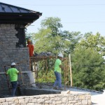 Workers continue construction of the new $6 million Lexington Brewing and Distilling Company, which is now part of the Kentucky Bourbon Trail.