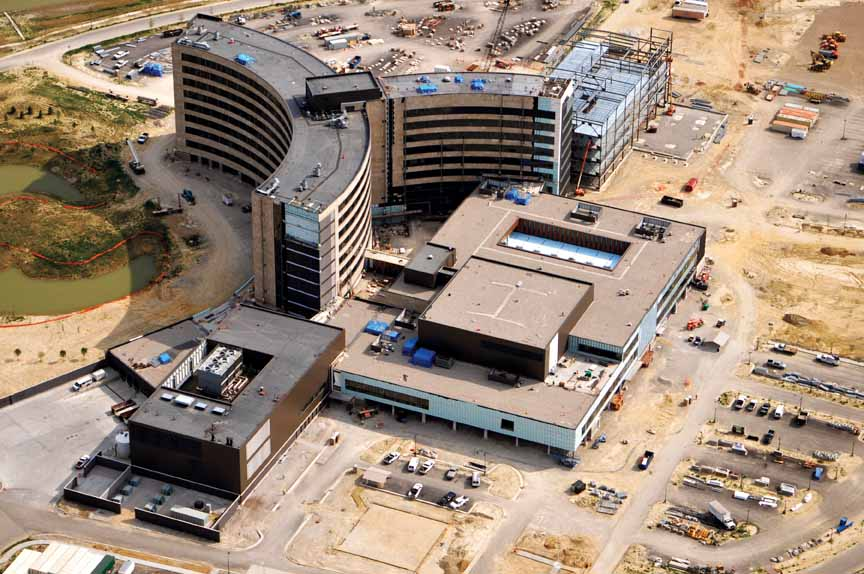 Owensboro Medical Health System is building a new $385 million hospital and medical complex, the largest individual project among more than $1 billion in current capital projects by Kentucky healthcare providers.