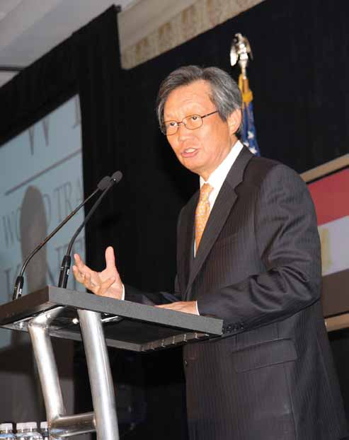 Y.J. Choi, ambassador of the Republic of Korea to the United States, said Kentucky businesses should consider exporting to Korea now that the two countries have a free trade agreement.