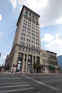 The First National Bank building in downtown Lexington will be transformed to the city's own 21c Museum Hotel.