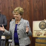 Marcheta Sparrow, secretary of the Kentucky Tourism, Arts and Heritage Cabinet, said the bourbon industry is a major driver of tourism growth in the state.