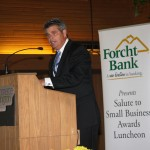 Stephen Hillenmeyer emceed the Commerce Lexington 2012 Salute to Small Business luncheon.