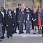 The recipients of the Governor's Awards in the Arts were honored by Gov. Steve Beshear at a ceremony Oct. 9 in Frankfort.