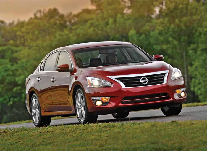 Nissan's popular Altima model is built at its plant in Smyrna, Tenn.