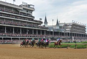 Churchill Downs in Louisville, Ky.