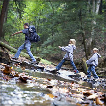 A big weekend for outdoor adventure - Keep mites away backyard hiking ...