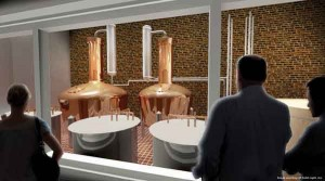 An artist'€™s rendering of Heaven Hill'€™s Evan Williams Experience depicts the multi-million dollar artisanal distillery that will be part of the downtown Louisville tourist attraction. It will open in September 2013.