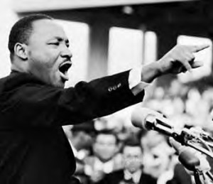 Today is Martin Luther King Jr. Day.