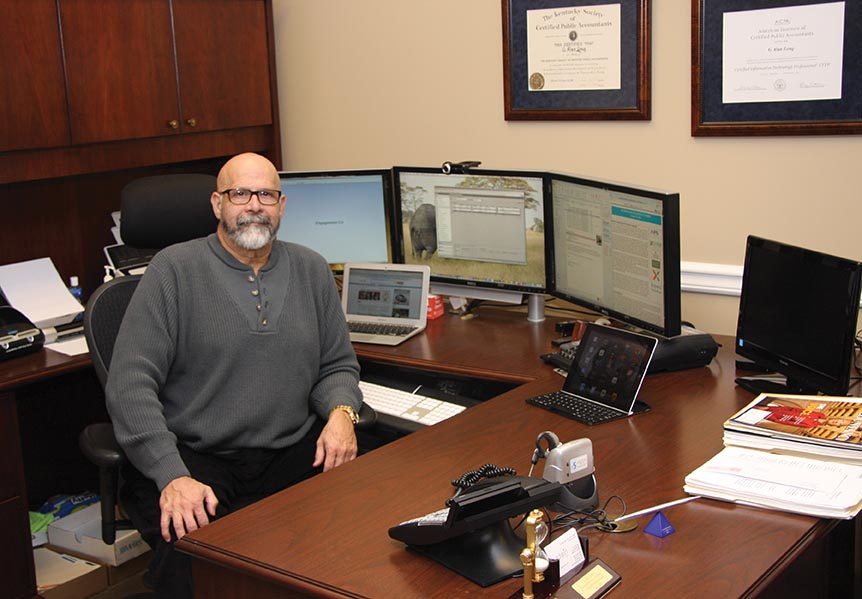 Alan Long is managing member of Baldwin CPAs in Richmond, Ky. He is a certified information technology professional and was named in October by Accounting Today magazine to its first class of Managing Partner Elites for being a successful early embracer of new technology.