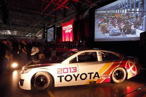 TMMK team members attending the event were also able to get an up-close look at the new 2013 Camry for NASCAR competition.