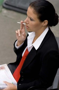 The business community supports a smoking ban because of lost productivity and higher health insurance premiums for businesses, according to the Kentucky Chamber of Commerce. (Photo courtesy of freestockimages.com)
