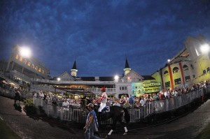 Downs After Dark has been an immensely popular event at Churchill Downs.