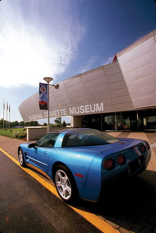 The National Corvette Museum in Bowling Green, Ky.