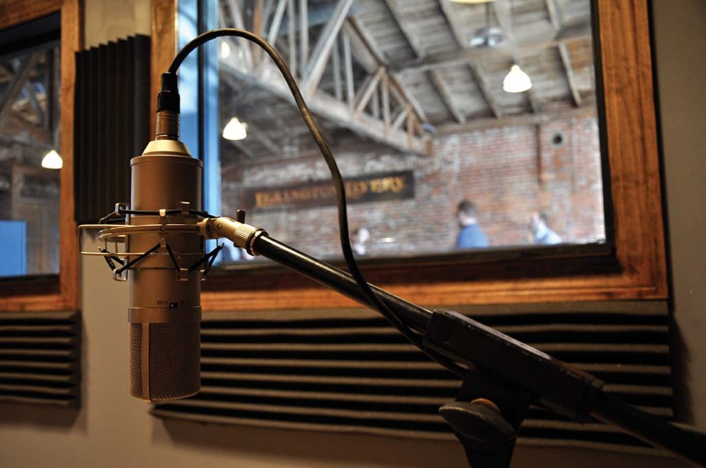 The Livery is equipped with its own studio, allowing for recording music and voice overs for various work. Occasionally, the Livery crew has also laid down their own beats and a few original songs.