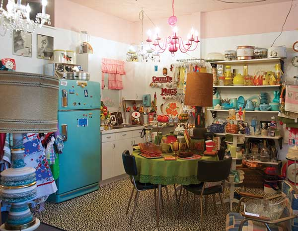 """Street Scene carries """"all things vintage,"""" says shop owners Terri Wood and Kathryne Wiseman. The longtime friends opened the store in 2007 after they couldn't keep their vintage booth stocked at a Lexington antique market."""