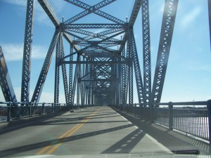 The Blue Bridge in downtown Owensboro is formally called the Glover Cary Bridge and the KY 2262 Ohio River Bridge.
